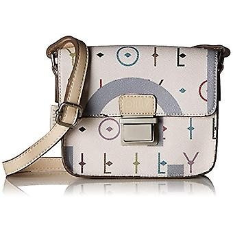 Oilily Jolly Letters Shoulderbag Xshf - White Women's Shoulder Bags (Offwhite) 6x12x17 cm (B x H T)
