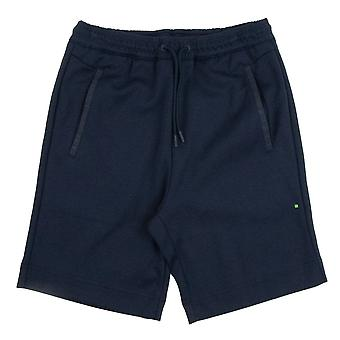 Hugo Boss Headlo Rubber Logo Shorts Marine