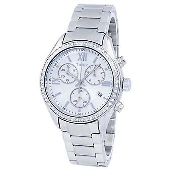 Timex Miami chronograaf Quartz Diamond accent Tw2p66800 vrouwen ' s horloge