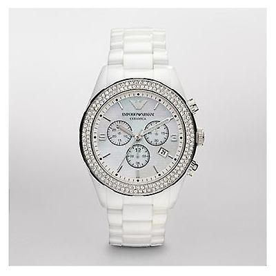 Emporio Armani Ar1456 Latest Model Ladies White Ceramica Watch