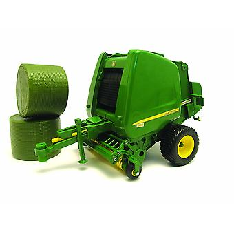 Britains Big Farm 1:16 John Deere Toy 854 Round Baler Collectable Farm Toy