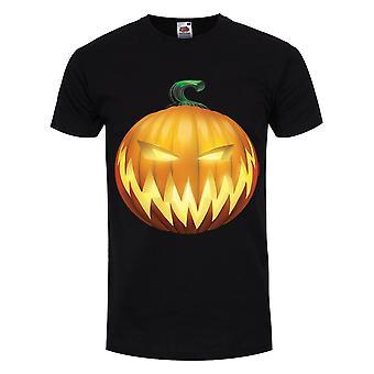 Grindstore Mens Evil Pumpkin LanternA T Camicia