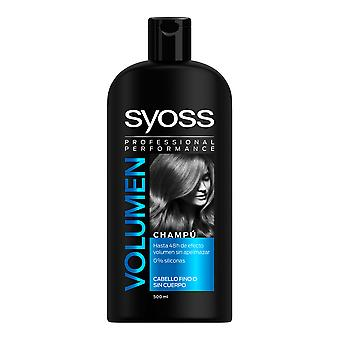 Syoss Volumen Champú Cabello Fino-sin Cuerpo 500 Ml For Women