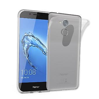 Cadorabo Caja para Honor 6C Funda de Caso - Funda de teléfono móvil hecha de silicona TPU flexible - Funda protectora de silicona Ultra Slim Soft Back Cover Case Bumper