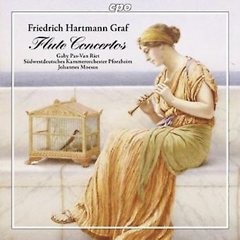 Friedrich Hartmann Graf - Friedrich Hartmann Graf: Flûte Concertos [CD] USA import