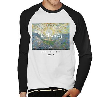 A.P.O.H Munch Momento Mori Men's Baseball Long Sleeved T-Shirt