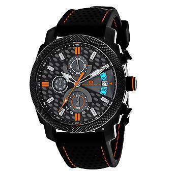 Oceanaut Men-apos;s Kryptonite Black and Grey Dial Watch - OC2323