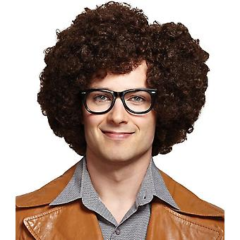 Brown Party Rock Wig Fir Adults