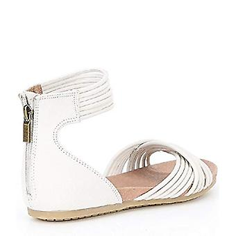 Adam Tucker Women's Serene Nubuck Sandals White