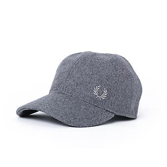Fred Perry Wool Blend Grey Cap