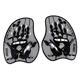 Arena Vortex Evolution Hand Paddle - Silver/Black