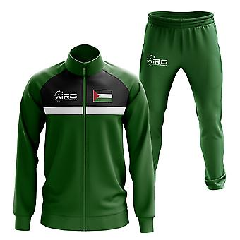 Palestine Concept Football Tracksuit (Green)