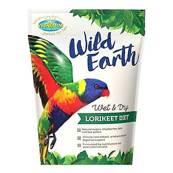 Wild Earth Lorikeet ruoka Valio 450g