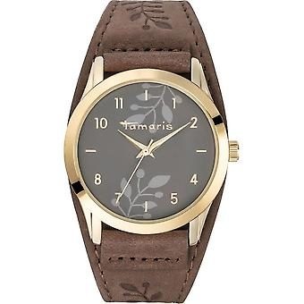 Tamaris - wristwatch - Alena - DAU 39mm - gold - ladies - TW029 - brown gold