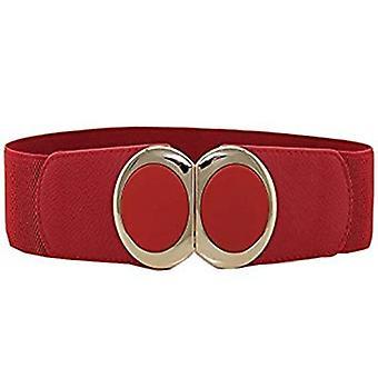 Cintura elastica a vita da 60 mm con Buckle Oro