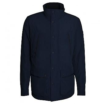 Hugo Boss Casual Hugo Boss Men's Dark Blue Hooded Jacket