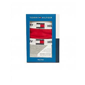 Tommy Hilfiger 2 Pack Logo Bund Badehose