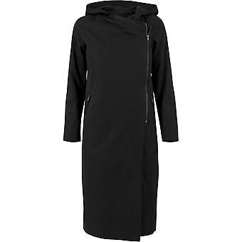 Urban classics ladies - EPÄSYMMETRINEN jakku musta
