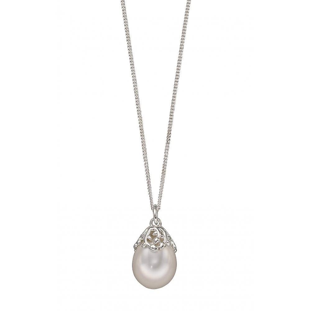 Joshua James Allure Silver & Pearl Baroque Pendant