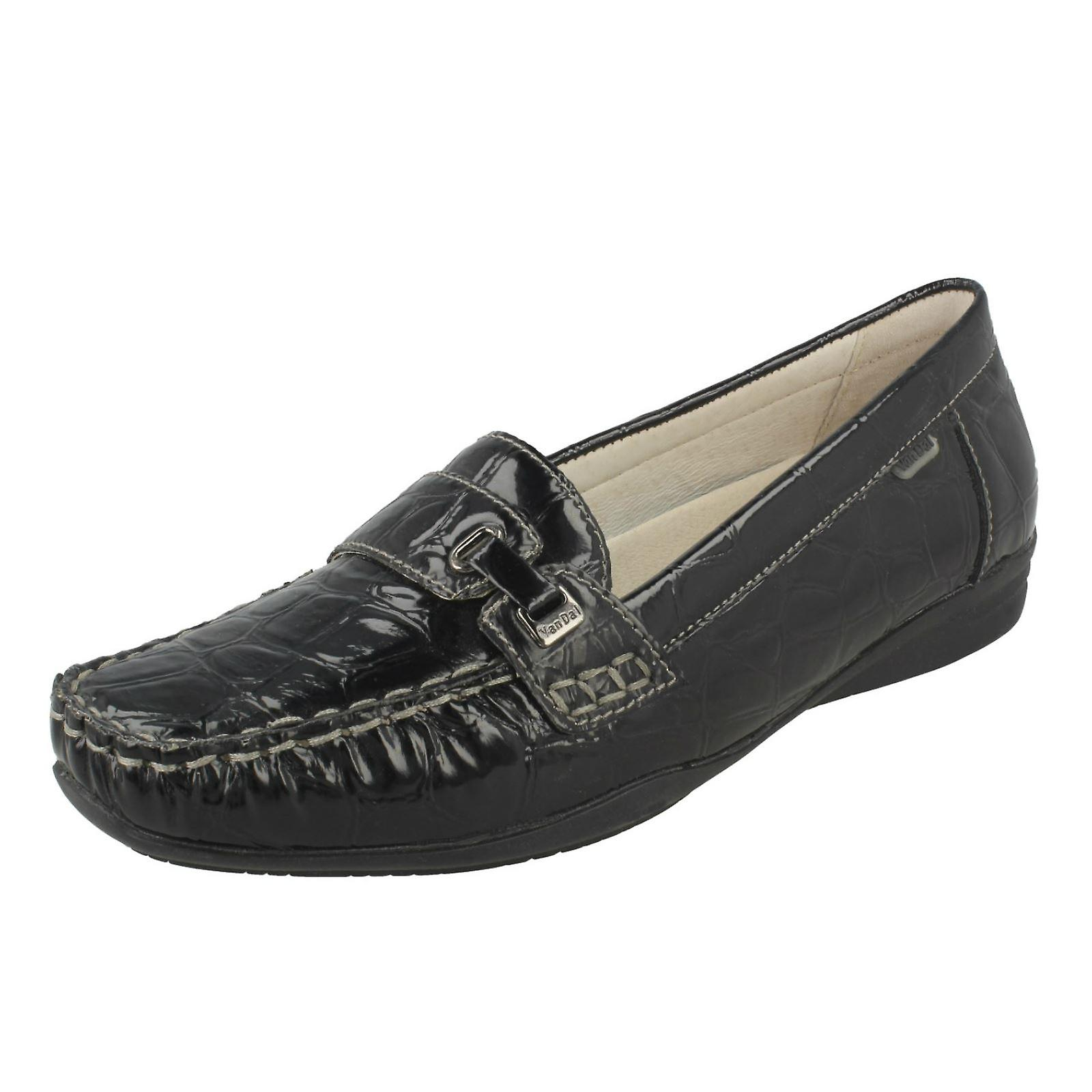 Van Dal Loafer Style Flat Slip On Shoes X0tLF