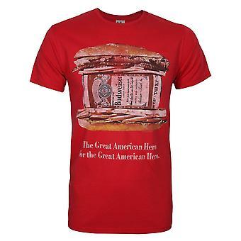 Junk Food Budweiser Hero Men-apos;s T-Shirt