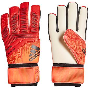 adidas Performance Mens Predator Competition Football Goalkeeper Gloves - Red