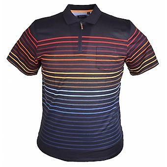 Hajo Fashion Stripe Polo