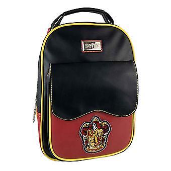 Harry Potter Backpack Bag Gryffindor House Crest new Official Black Red