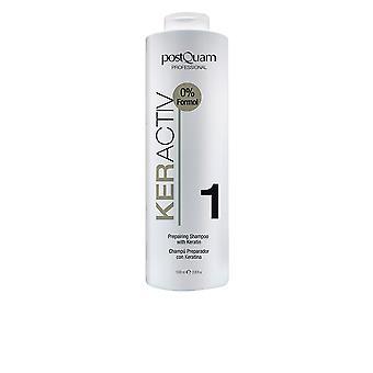PostQuam Haircare Keractiv preparar Shampoo com queratina 250 Ml para as mulheres