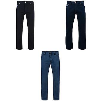 Kam Jeanswear Mens Basic 5 Pocket Jeans