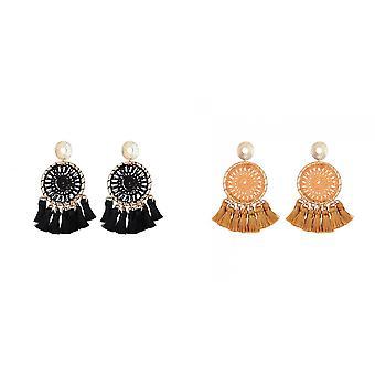Jewelcity Sunkissed Womens/Ladies Dreamcatcher Earrings