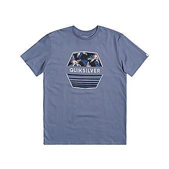 Quiksilver Drift Away Short Sleeve T-Shirt in Stone Wash