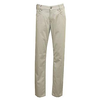 GARDEUR Gardeur Mens Stone Or Blue Trouser Bill3 411451