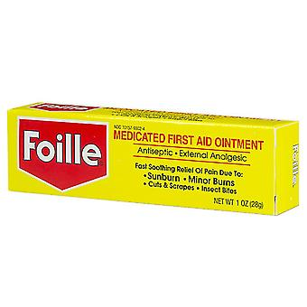 Foille medicated first aid ointment, 1 oz
