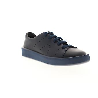 Camper Courb  Mens Blue Leather Lace Up Low Top Sneakers Shoes