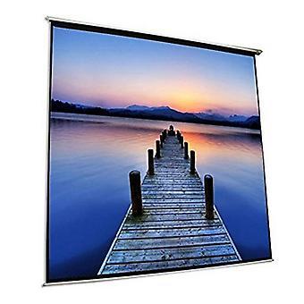 Elektrická stěnová clona iggual PSIES300 300 x 300 cm