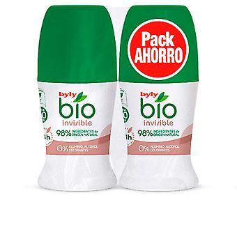 Byly Bio Natural 0% Invisible Deo Roll-on Set 2 Pz Unisex