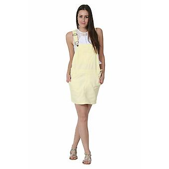 Vestito generale in dungaree oversize - giallo rilassato loose fit
