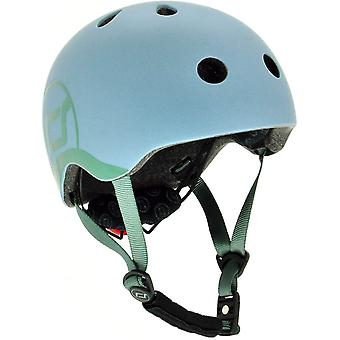 scoot and ride safety helmet with led size 2xs-s 45-51cm head size