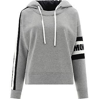 Moncler 8g70900v8105987 Women's Grey Cotton Sweatshirt
