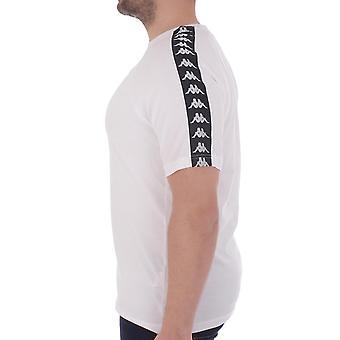 קאפה Mens 222 בנדה Coen רגיל להתאים חולצה שרוול קצר T-חולצת טי למעלה-לבן