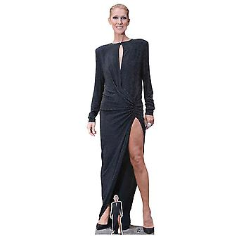 Celine Dion Singer Lifesize Cardboard Cutout / Standee