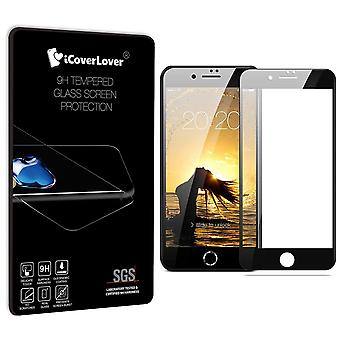 For iPhone 8,7 Full Screen 3D 9H Tempered Glass Screen Protector,iCoverLover