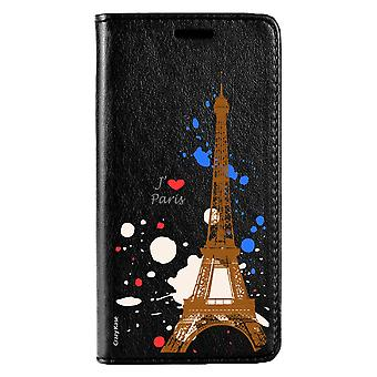 Case For Huawei P20 Lite Noir Motif Paris