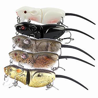 5 فئران في الرماد - صيد السمك إغراء بايك