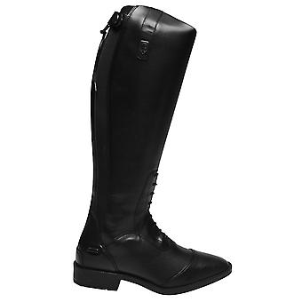 Just Togs Womens Ladies Aura Knee High Leather Riding Equestrian Boots Shoes
