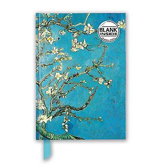 Vincent van Gogh Almond Blossom Foiled Blank Journal by Created by Flame Tree Studio