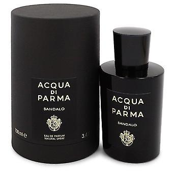 Acqua Di Parma Sandalo Eau De Parfum Spray (Unisex) Przez Acqua Di Parma 3.4 uncji Eau De Parfum Spray