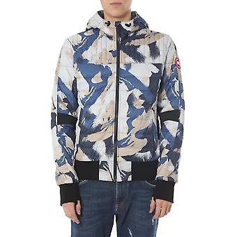 Canada Goose 2208mp866 Men's Blue Nylon Outerwear Jacket