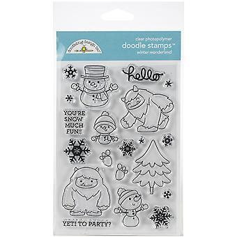 Doodlebug Design Winter Wonderland Doodle Stamps